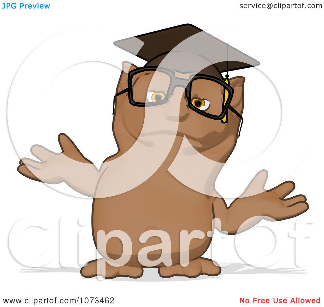 owl professor clipart - photo #31