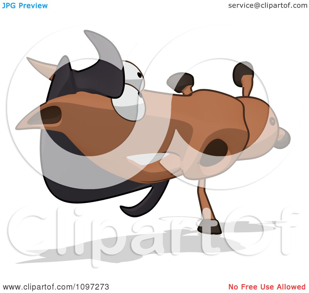 Clipart Charlie Horse Cartoon Doing A Cartwheel - Royalty Free CGI ...