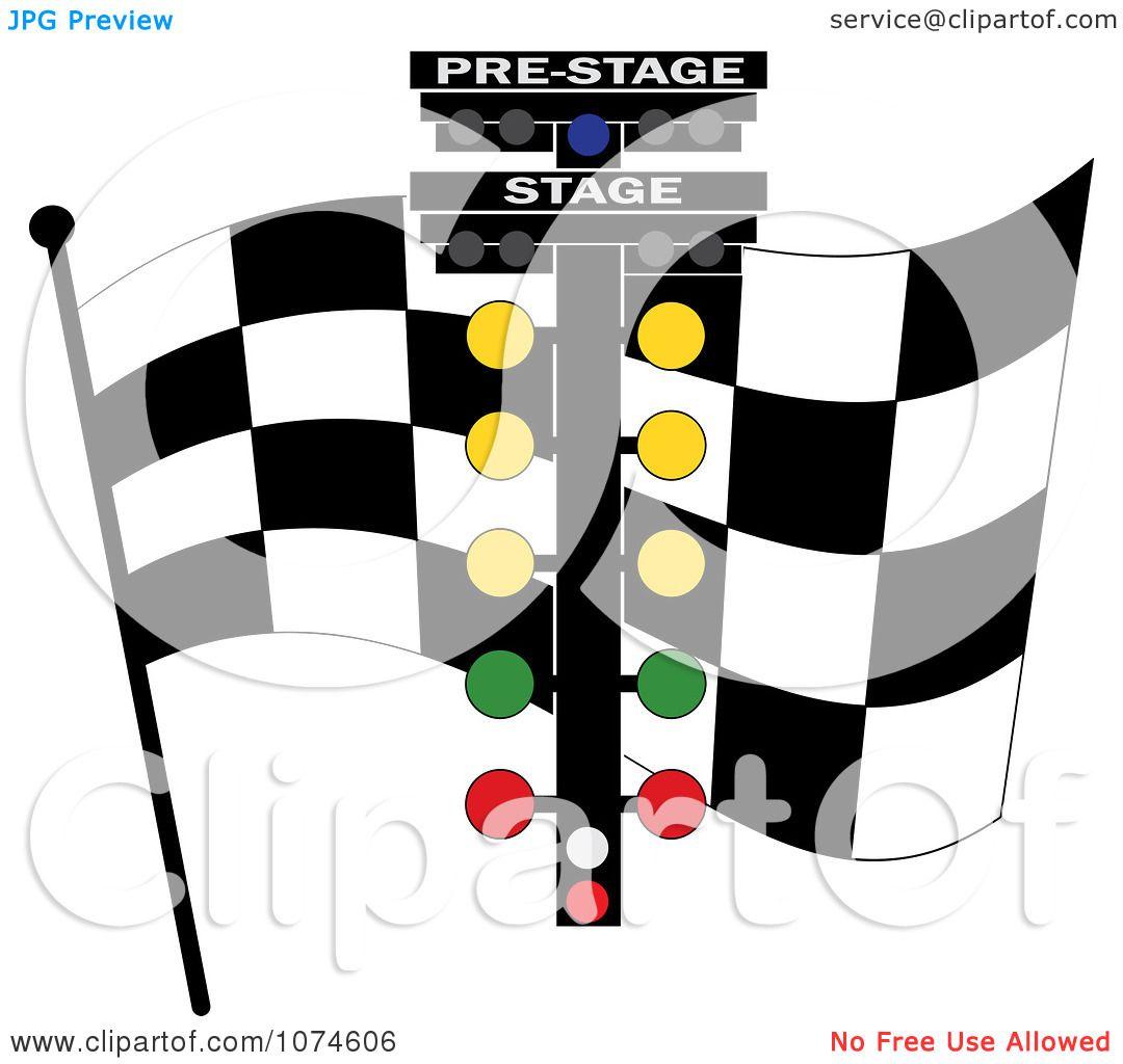 Race Start Clipart Clipart Checkered Race Flag
