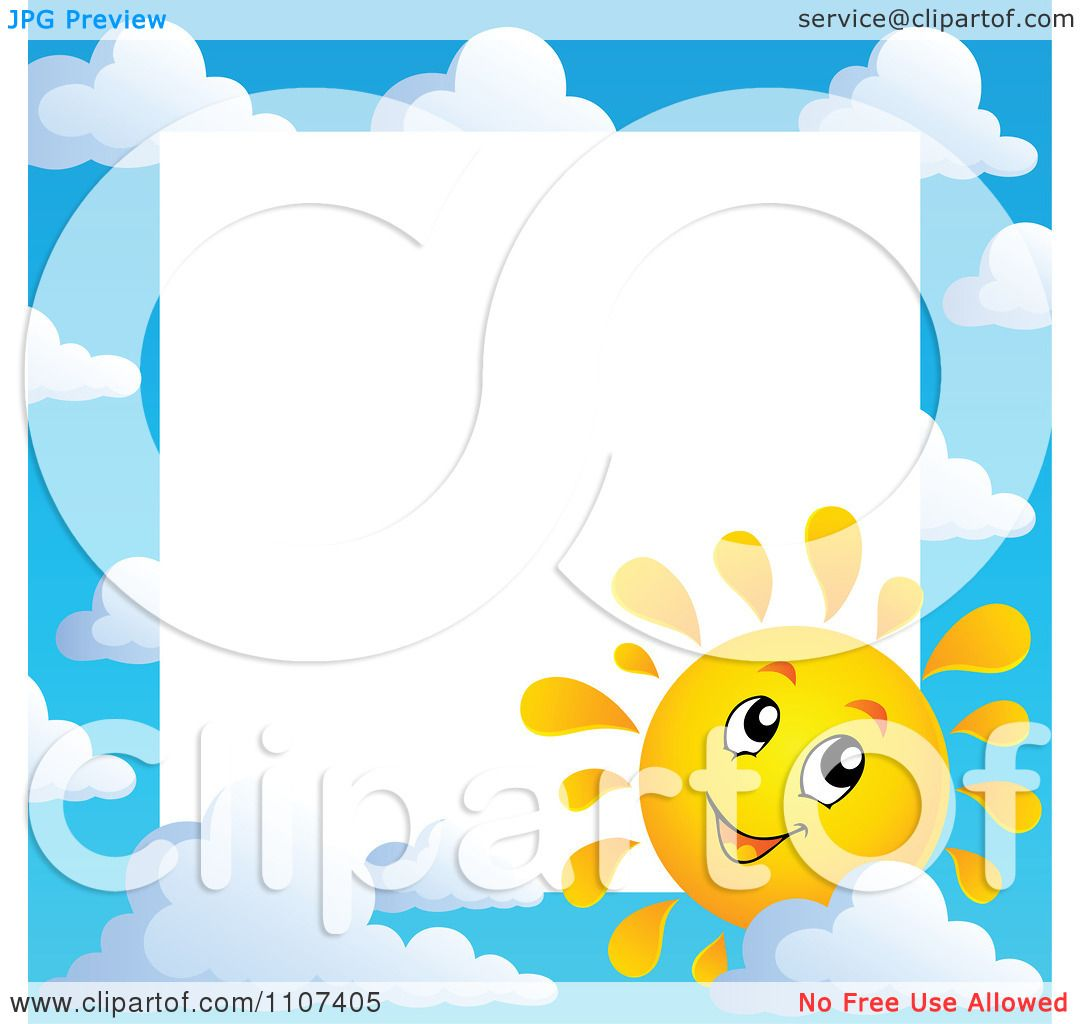 Sky Clip Art Sun Clipart cheerful sun character