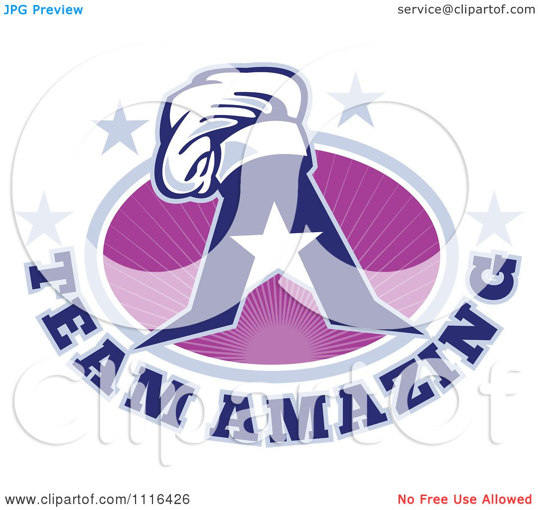 Amazing Clip Art: Clipart Chef Hat On A Letter A With Team Amazing Text And