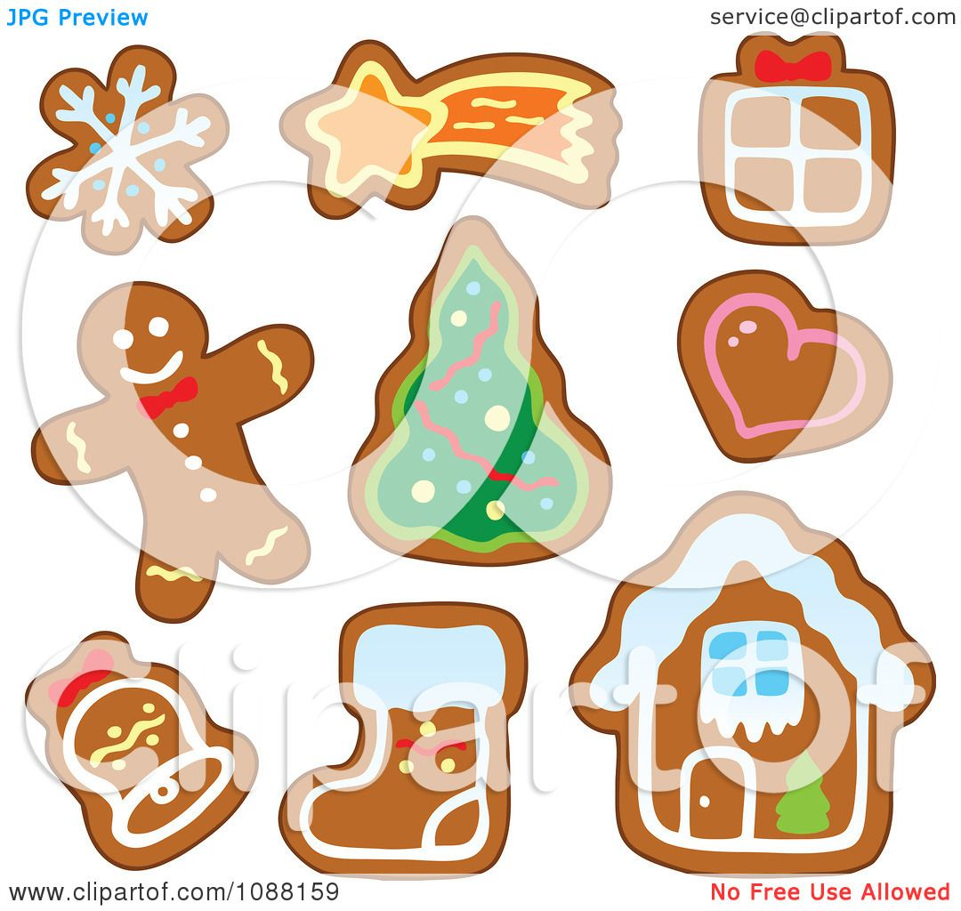Holiday Cookies Clipart Clipart christmas snowflake