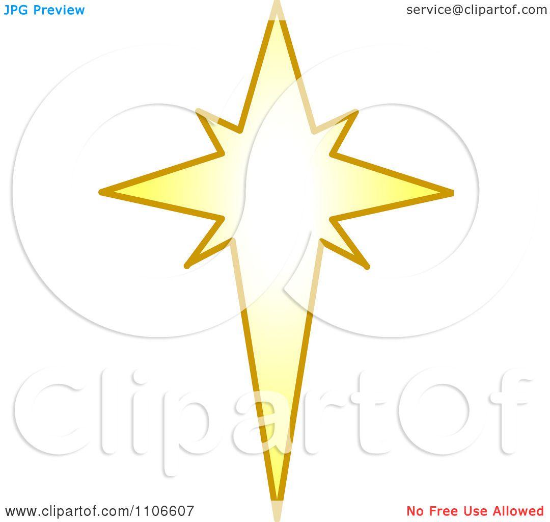 Clipart christmas star royalty free vector illustration
