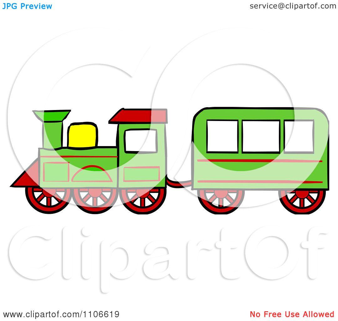 clipart christmas toy train royalty free vector illustration by rh clipartof com christmas train clipart black and white Christmas Toy Train