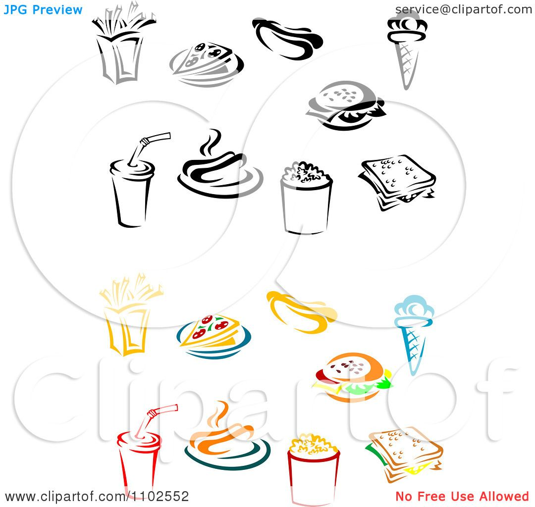 Free Vector Editing Software On Fries Royalty Free Vector