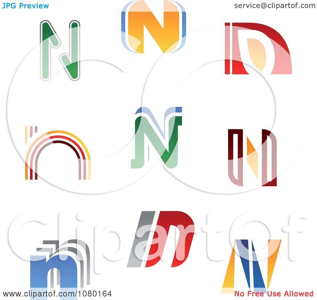 Letter N Logos - Royalty  N Logos