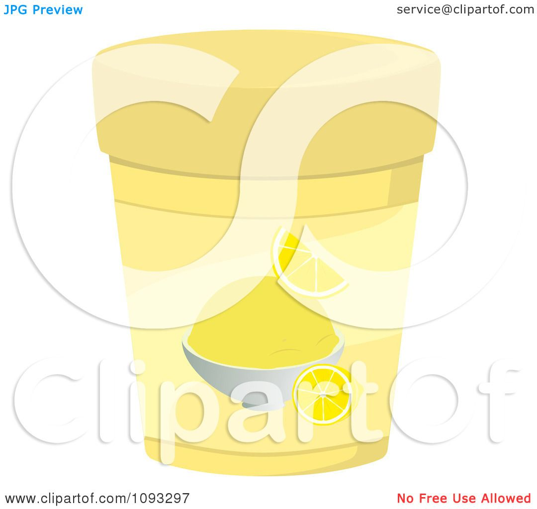 Root Beer Float Clip Art Black And White Clipart container of lemon ...