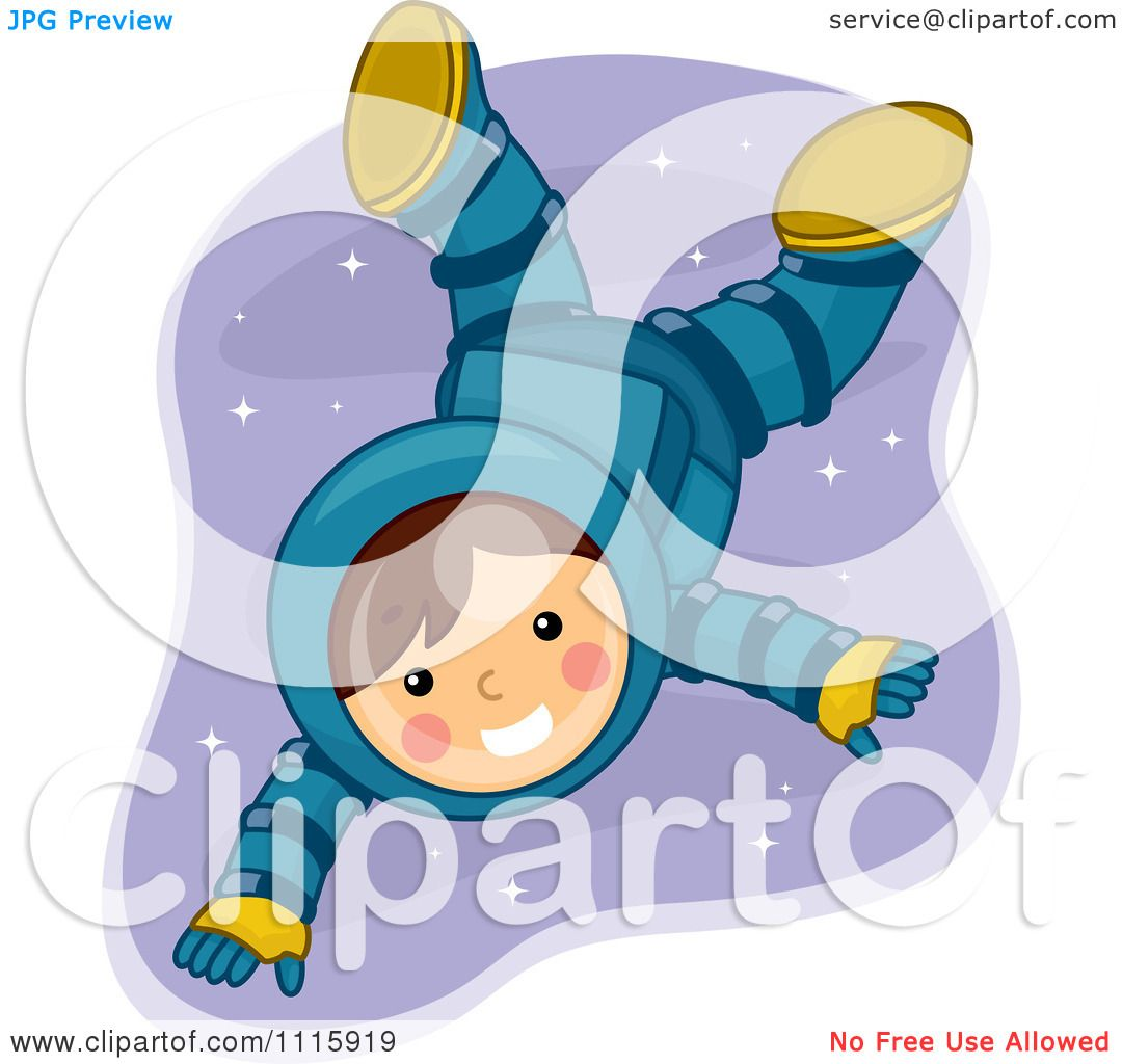 astronaut floating in space clipart - photo #23