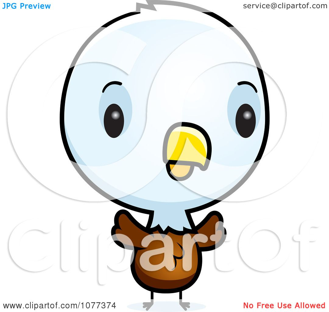 The 5 Love Languages That Bald Chick: Clipart Cute Baby Bald American Eagle Chick