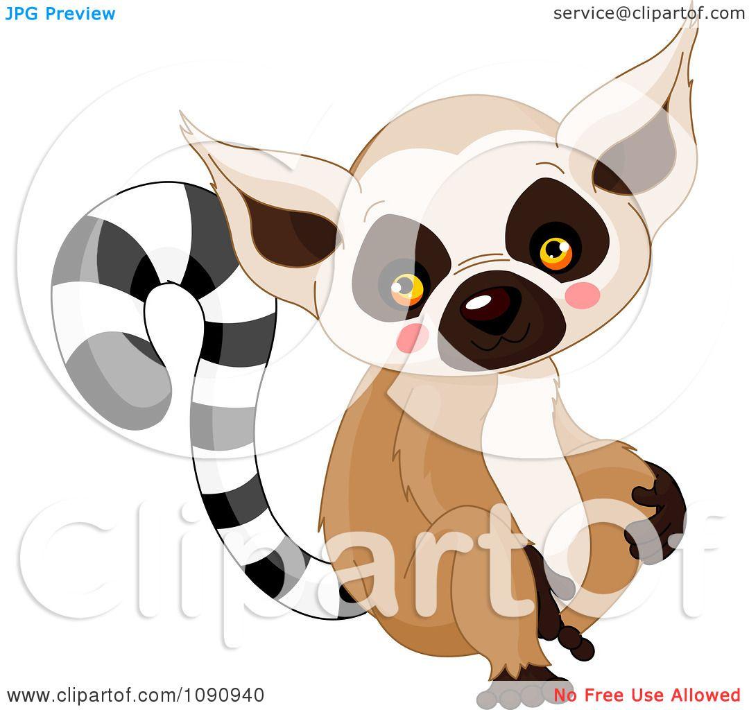 clipart cute baby zoo lemur royalty free vector lemur clip art free lemur clip art black and white