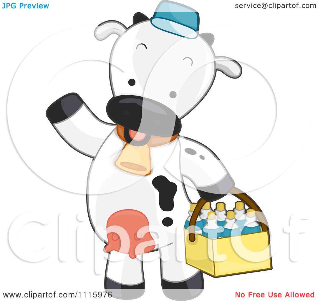 Milk Cow Clipart Clipart Cute Delivery Cow