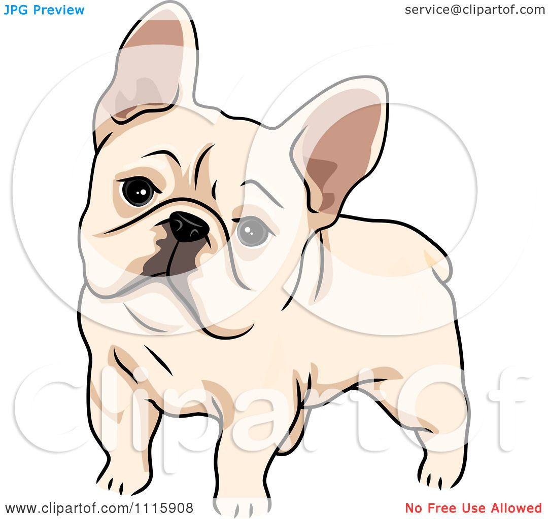 Clipart Cute French Bulldog Royalty