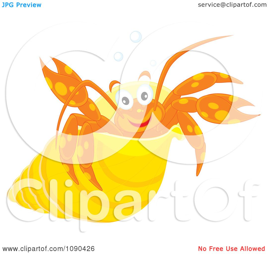 royalty free rf hermit crab clipart illustrations vector