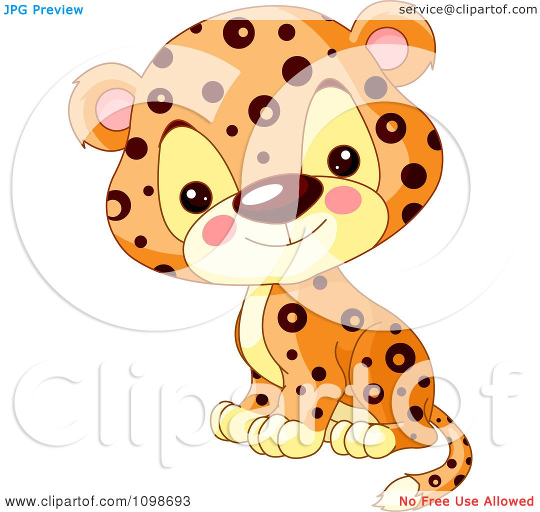 cute jaguar clipart - photo #27