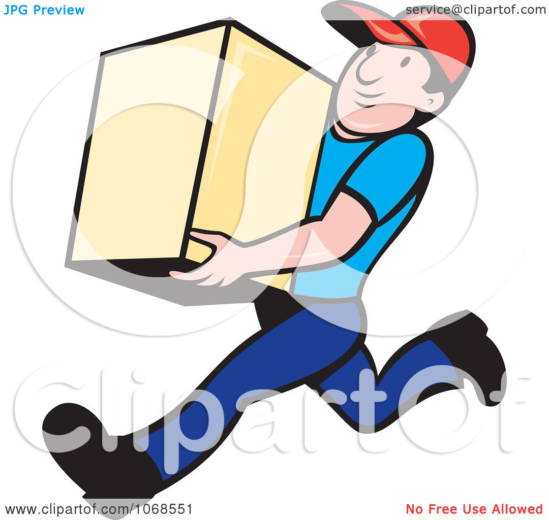 clipart delivery man - photo #37