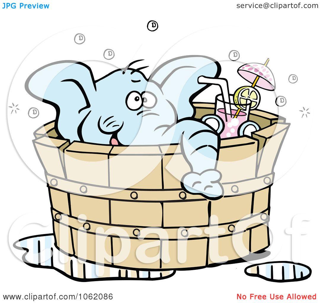 Sexy Elephant Cartoon Clipart Elephan...