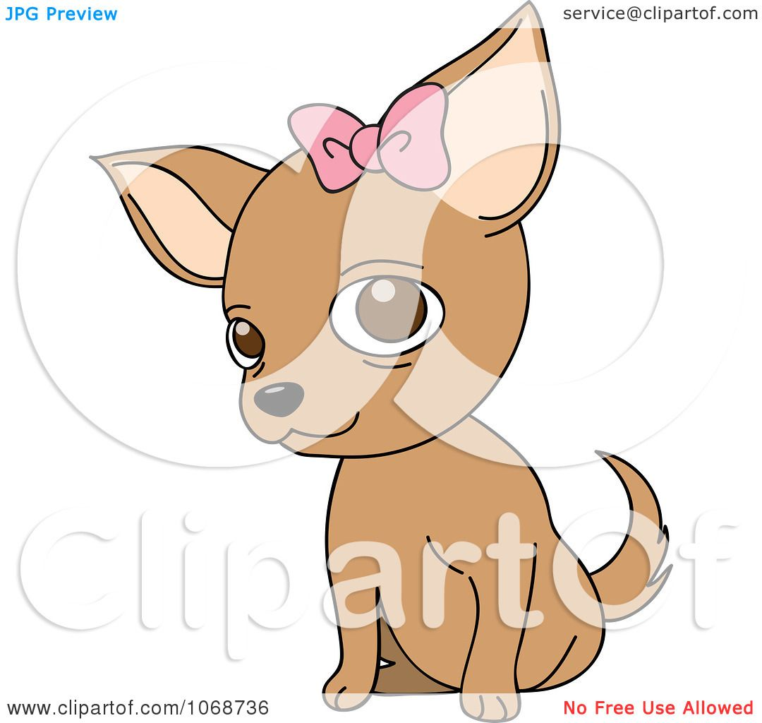 chihuahua dog clipart - photo #45
