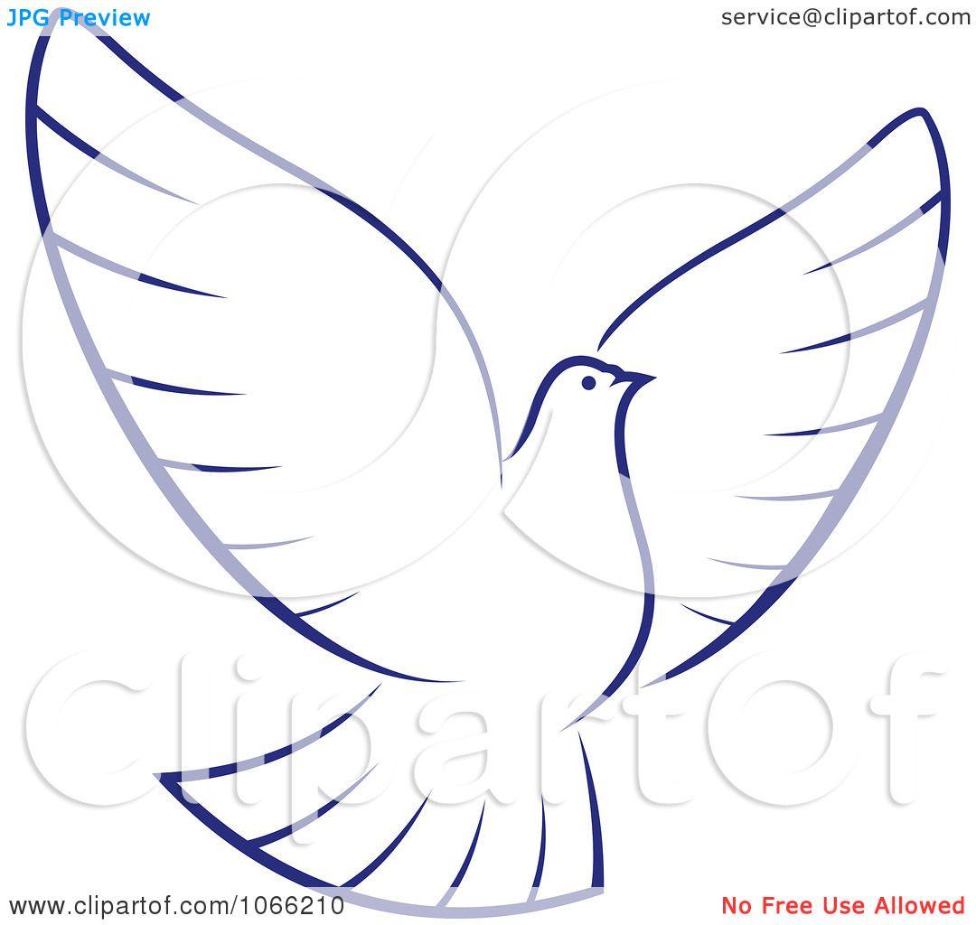 clipart flying dove 1 royalty free vector illustration royalty free vector clip art software Free Vector Clip Art Borders