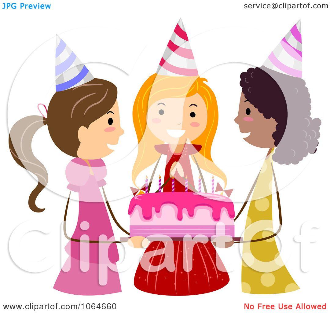 Friend Birthday Clipart