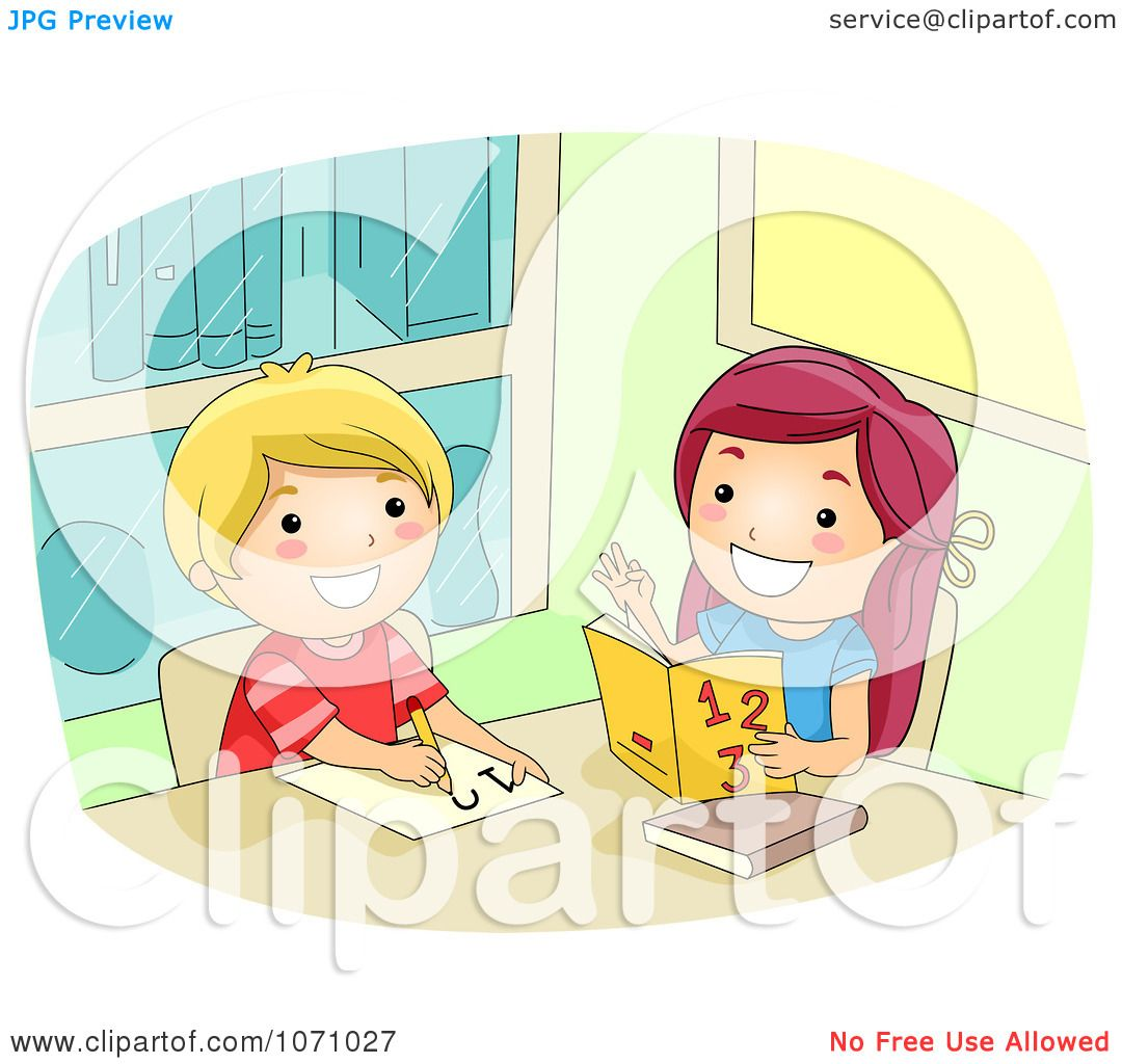 clipart girl helping a friend math royalty vector clipart girl helping a friend math royalty vector illustration by bnp design studio