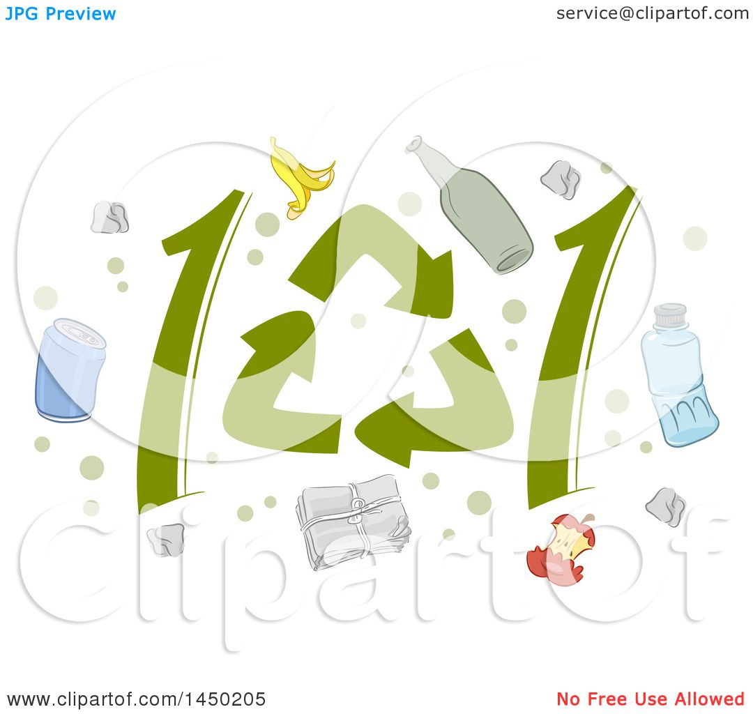 Clipart graphic of recycle symbols forming 101 and icons royalty clipart graphic of recycle symbols forming 101 and icons royalty free vector illustration by bnp design studio biocorpaavc Images