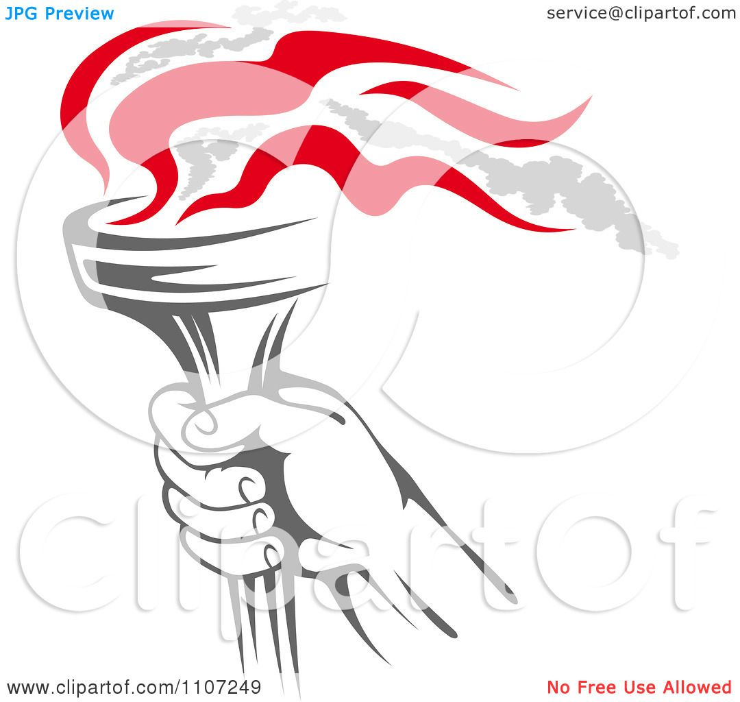 Funny Olympic Torch Pictures