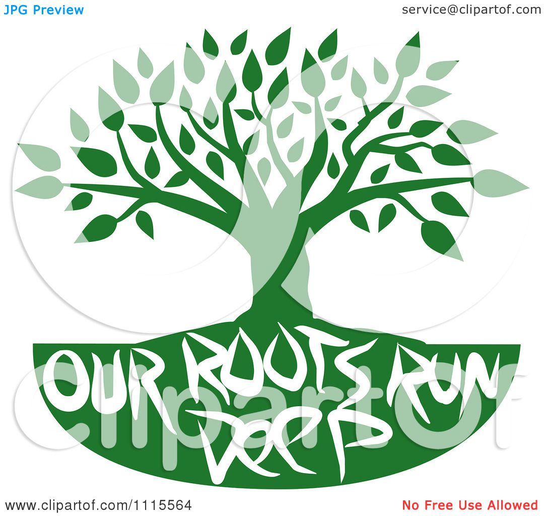 clipart family tree with roots - photo #20