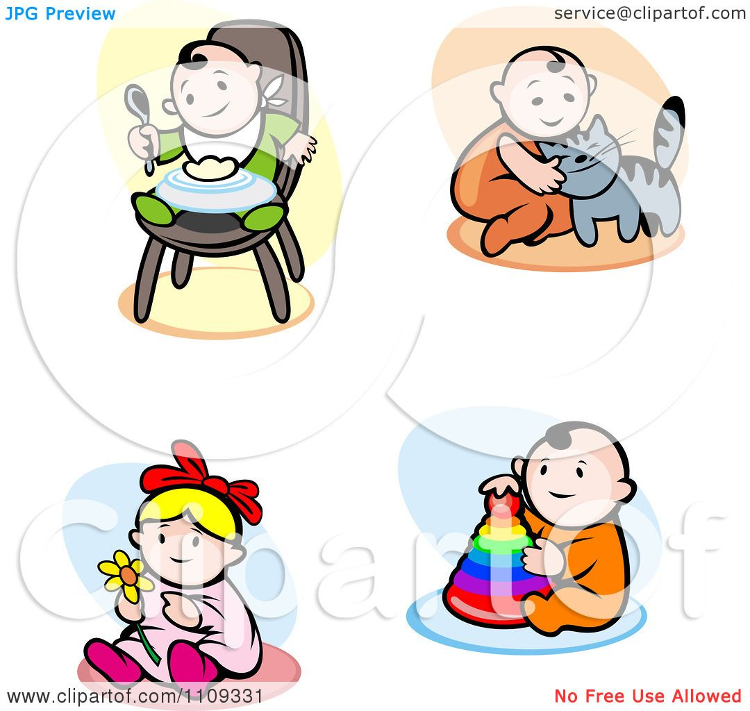 baby eating clipart - photo #29