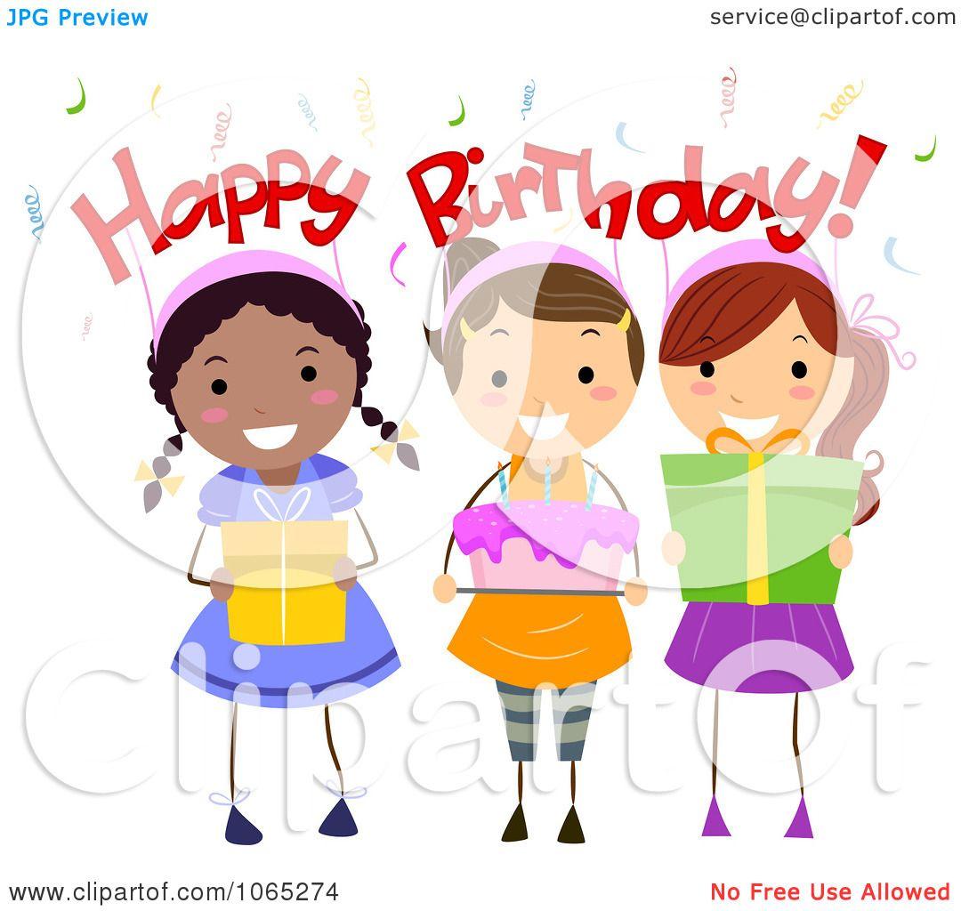 Birthday Cake Melonheadz Clipart