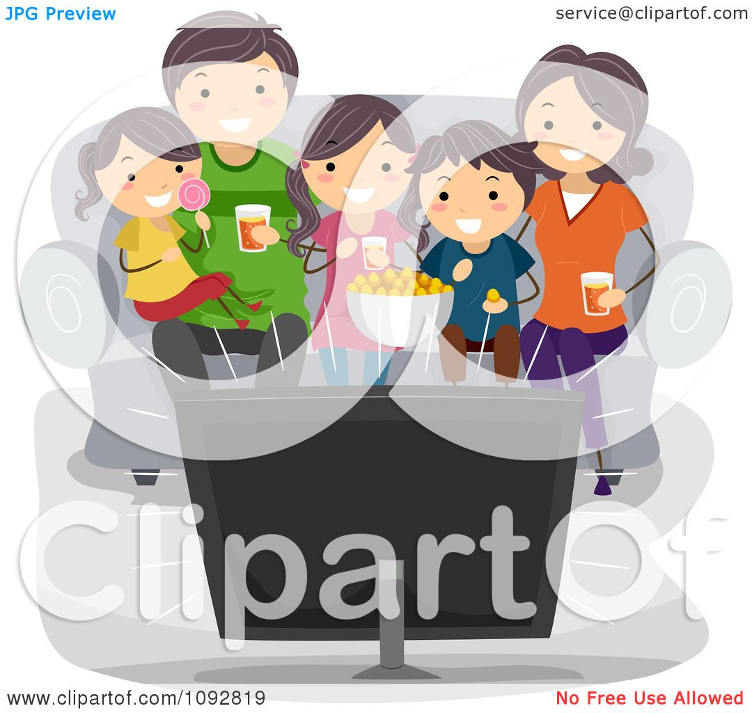 Watching Tv At Night Clipart Root Cause Tools Best Way To Unclog