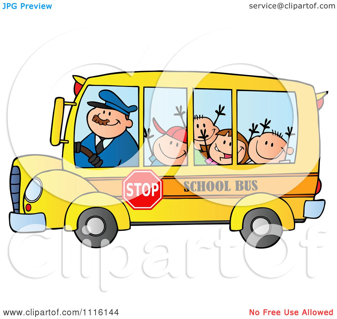 Bus Drivers Clipart images
