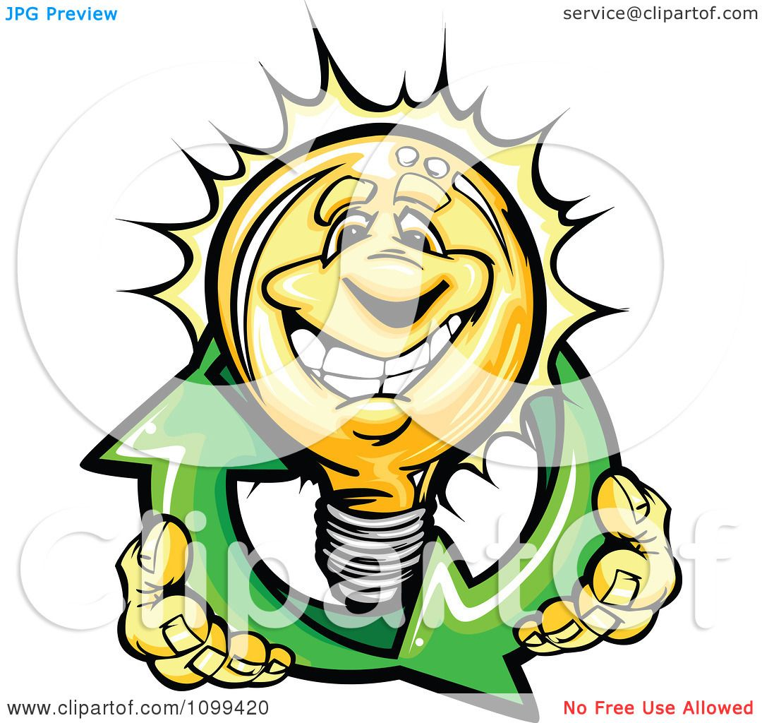clipart happy yellow light bulb mascot holding renewable solar rh clipartof com arrow of light clipart arrow of light clipart cub scouts
