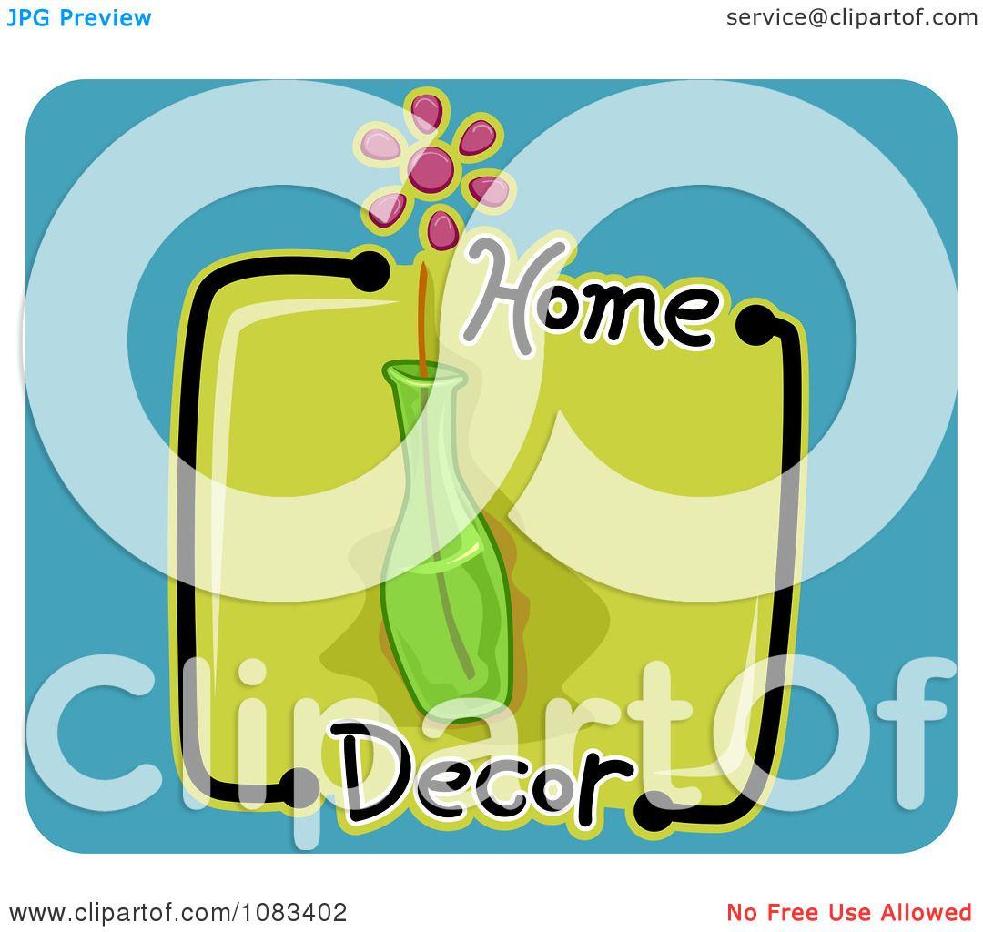 Clipart Home Decor Vase Icon Royalty Free Vector Illustration By Bnp Design Studio 1083402