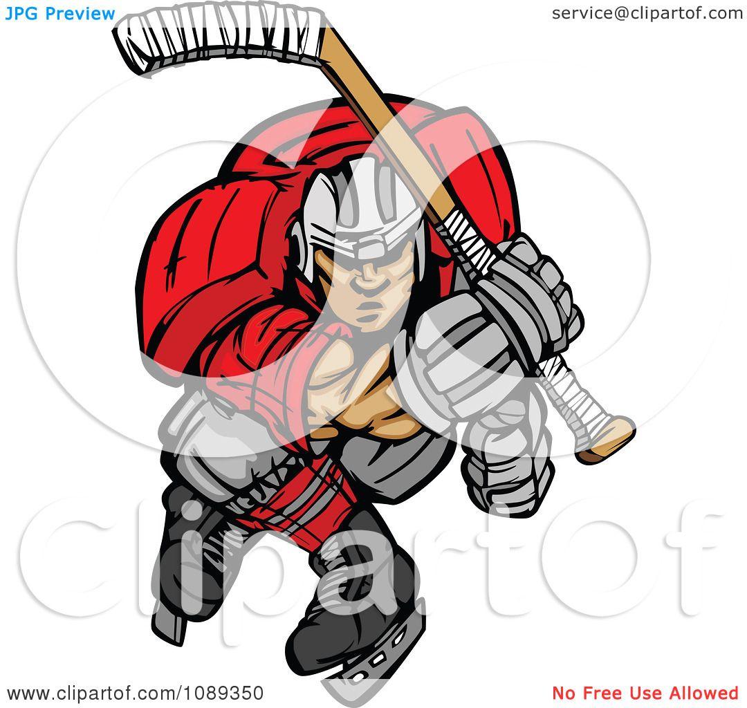 Hockey Goalie Clip Art Clipart ice hockey player