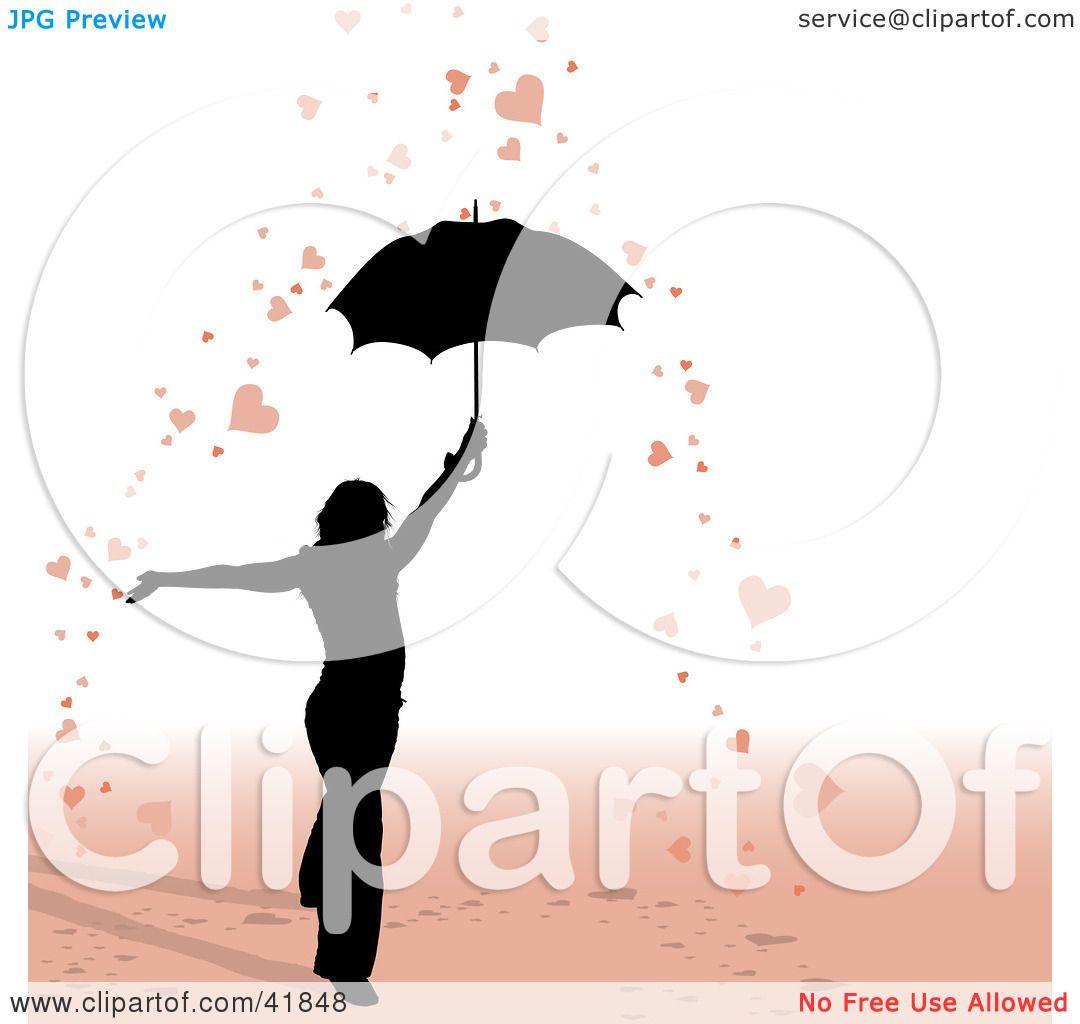 Woman Umbrella Tattoo Woman Under an Umbrella in