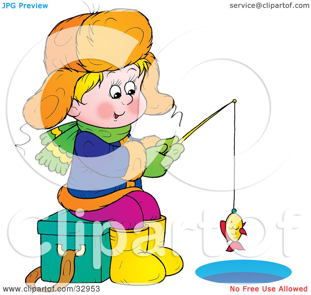clipart illustration of a boy sitting on an ice chest while ice rh clipartof com  boy fishing clipart black and white