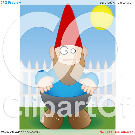 free garden gnome clipart - photo #47