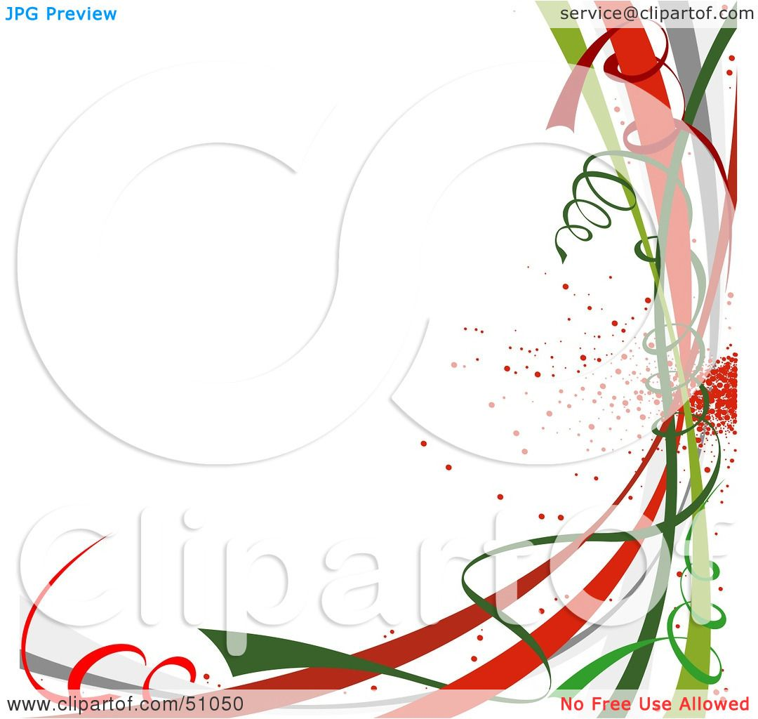 Clipart Illustration Of A Colorful New Year Or Christmas