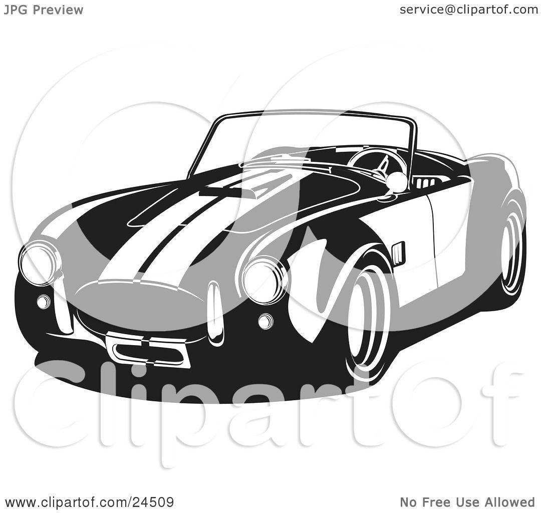 Shelby Cobra Clipart