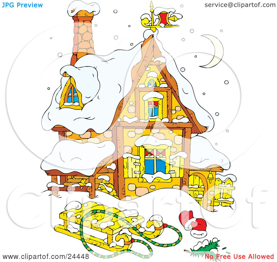 Stone House Clipart
