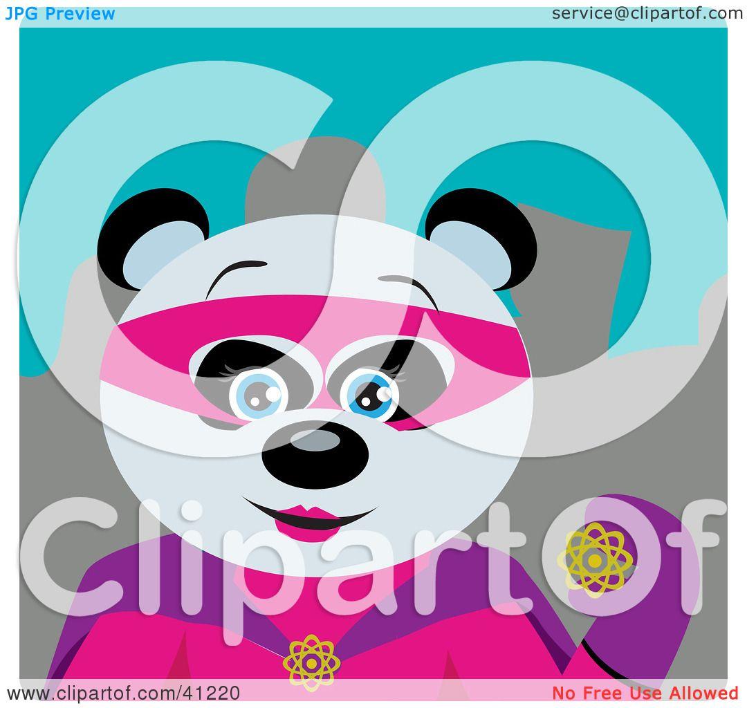clipart panda female - photo #30