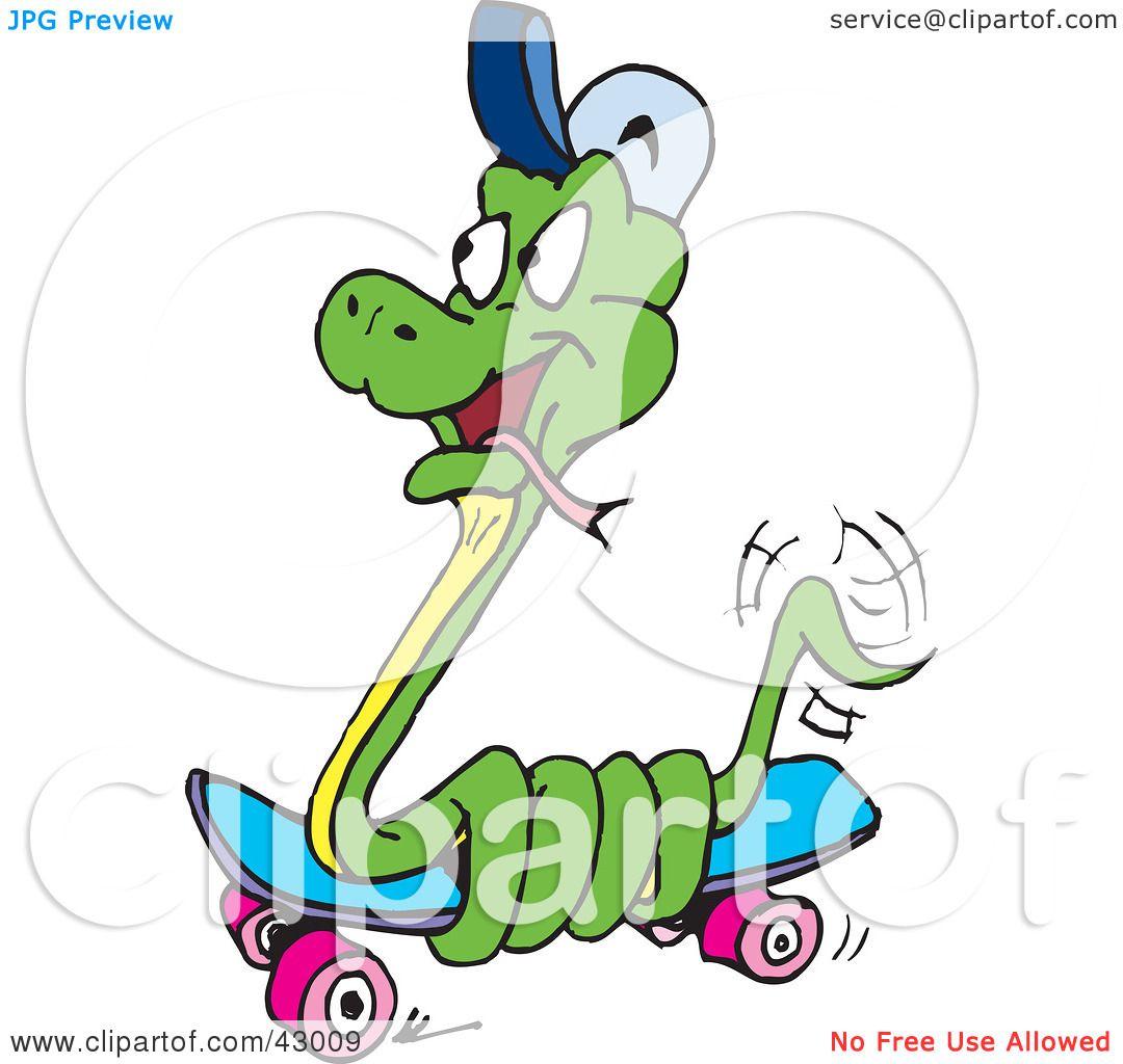 Green Snake Clipart