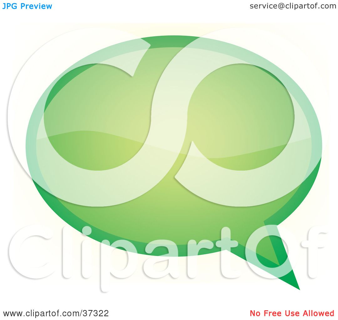 ... Green Word, Text, Speech Or Though Balloon Or Bubble by YUHAIZAN YUNUS