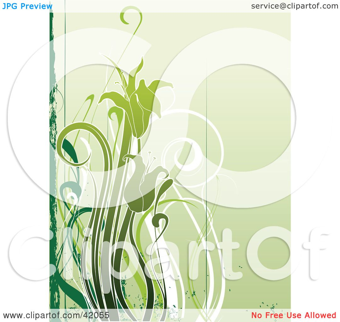 Hd wallpaper hair style - Green Flower Clipart Images Amp Pictures Becuo