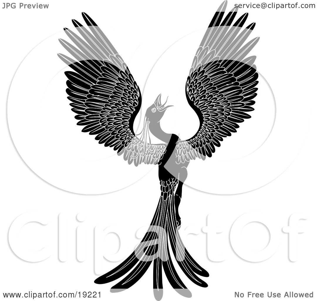 Clipart Illustration of a Majestic
