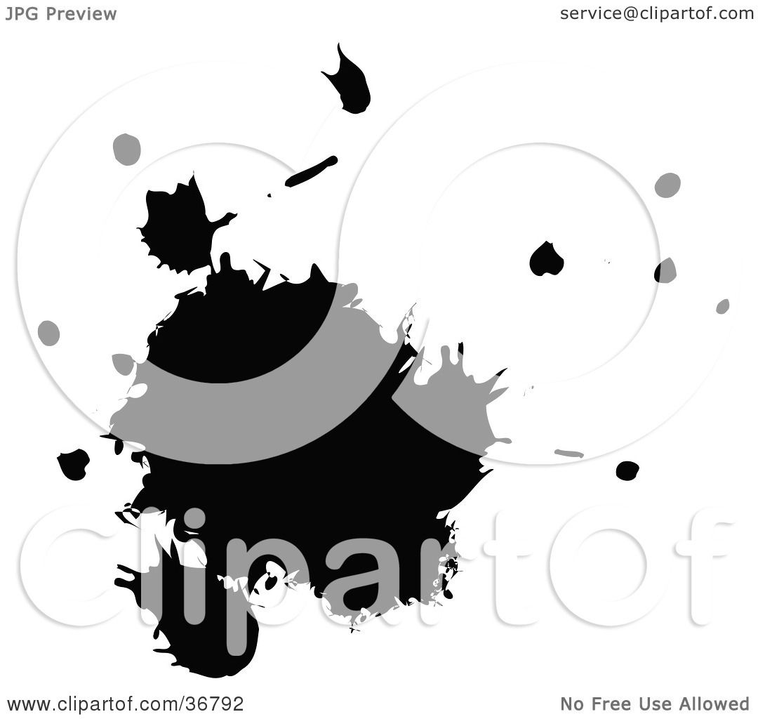 Clipart Illustration of a Messy