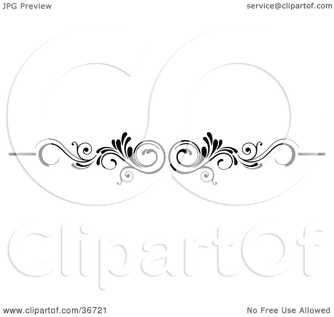 clipart illustration of a mirrored black and white scroll lower back tattoo design or flourish. Black Bedroom Furniture Sets. Home Design Ideas