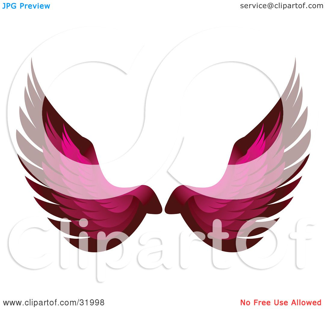 Clipart Illustration of a Pair