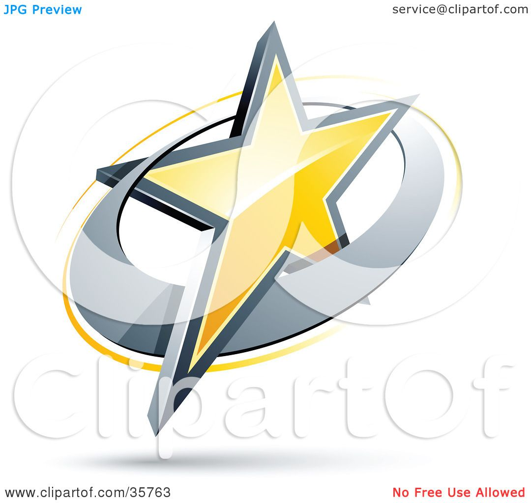 Yellow Circle Logo Logo of a Yellow Star in a