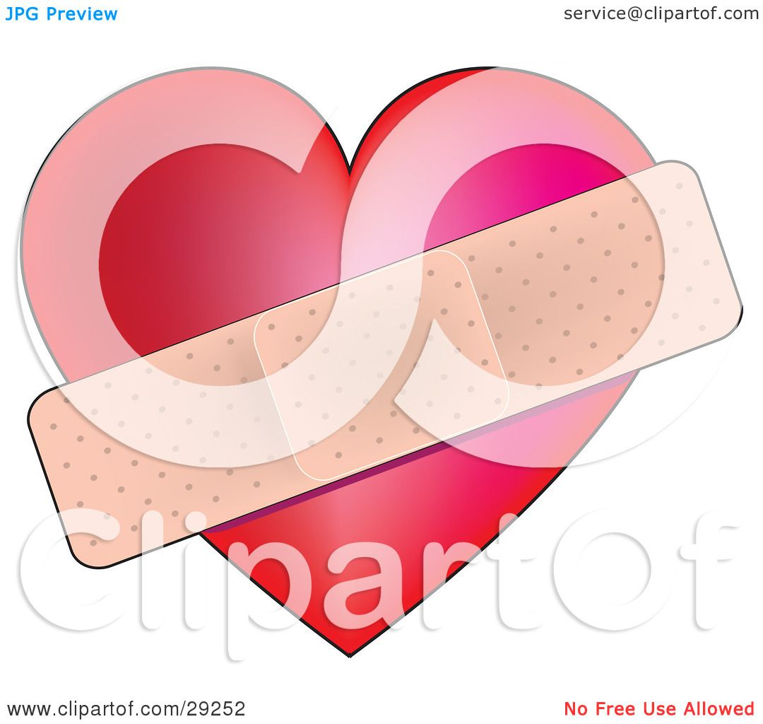 Displaying 20&gt Images For  Bandaged Heart